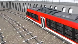 Hybrid Train by MTU