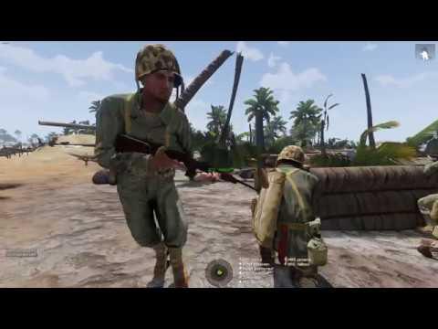 Arma 3 - Operation Galvanic - Battle of Tarawa - 2017-11-26