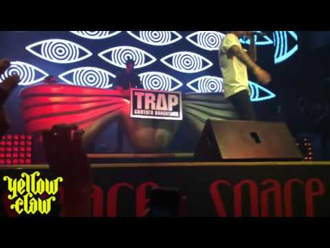 Yellow Claw @Trap святого валентина Moscow. Russia [13/02/2016]