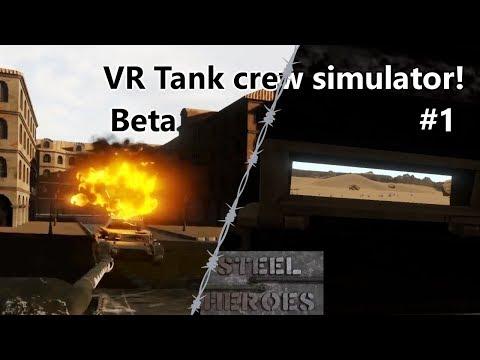 Steel heroes - VR Tank crew simulator! (Beta) |