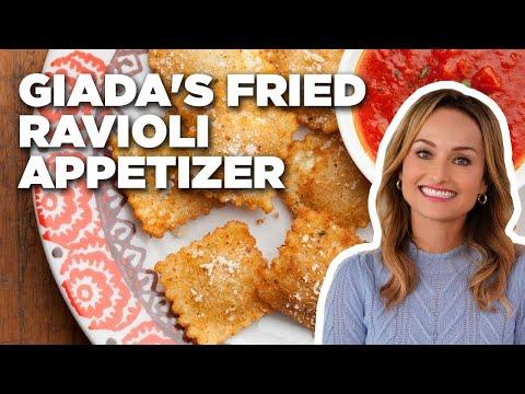 How To Make Giada's Fried Ravioli Appetizer | Food Network