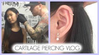 Helix/Cartilage Piercing Vlog
