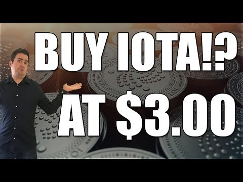 Is Now A Good Time To Buy IOTA!? You Might Be Surprised...