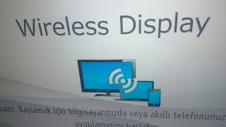 Vestel tv EKRAN YANSITMA - PAYLAŞMA özelliği