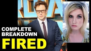James Gunn FIRED by Disney Marvel