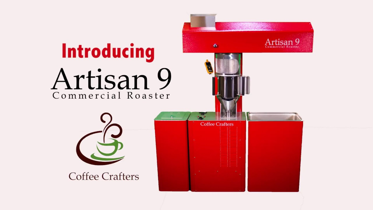 Coffee Crafters BRAND NEW Artisan 9 | Commercial Coffee Roaster