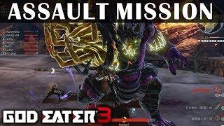 GOD EATER 3 Demo 8 Player Assault Mission Long Blade