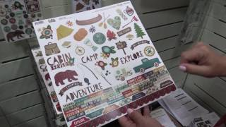 Cabin Fever Collection from Simple Stories | Mixed Media Event 2017