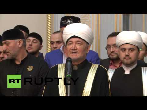 Russia: Hair of Prophet Muhammad presented at Moscow Cathedral Mosque