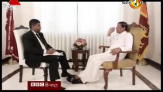 BBC Interview with President - 22nd January 2016