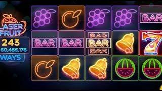 LASER FRUIT 📰📰📰 une machine à sous avec des jeux en BONUS 📰📰📰