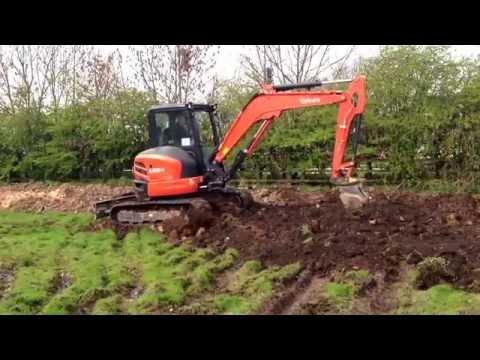 Molyneux Groundworks , 5 ton Kubota