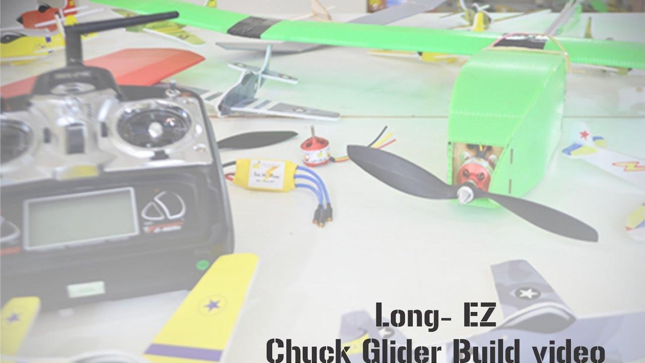 Long - EZ Chuck glider build video
