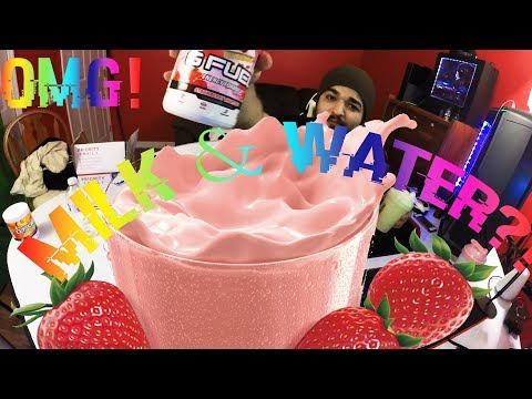 """NEW! STRAWBERRY SHORTCAKE G FUEL """"MILK & WATER"""" TASTE TEST & REVIEW! (1080p60)"""