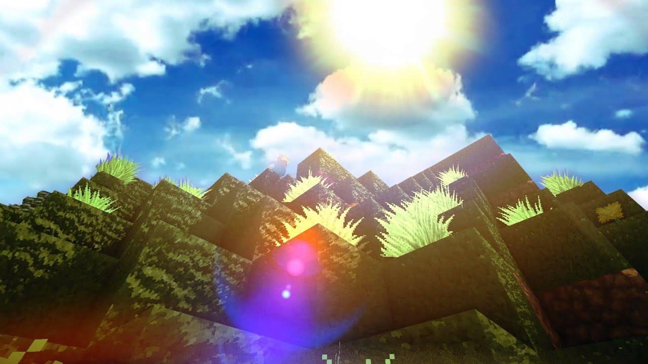 Картинки природы в minecraft