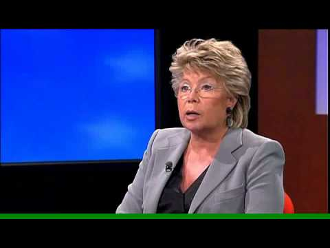 Truffle100, Interview Mrs Viviane Reding by Bernard-Louis Roques, Part 2