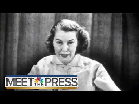 MTP At 70: From Martha Rountree To Chuck Todd | Meet The Press | NBC News