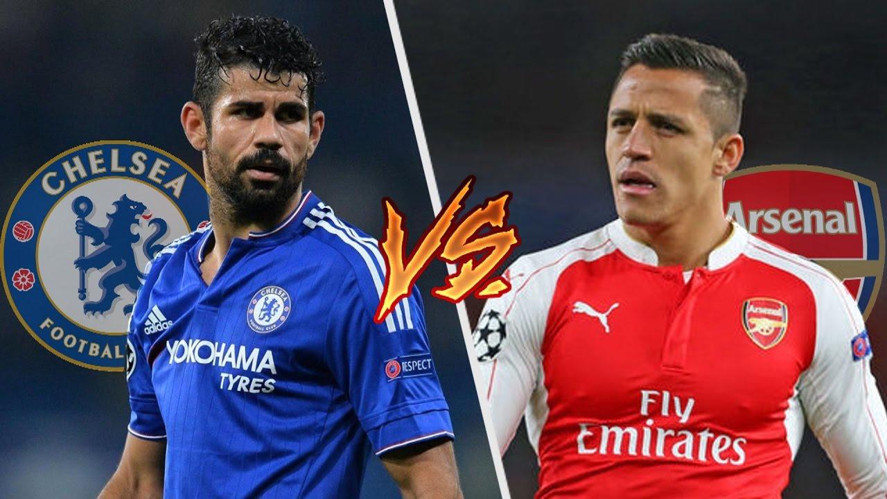 Chelsea Costa vs Arsenal Sanchez