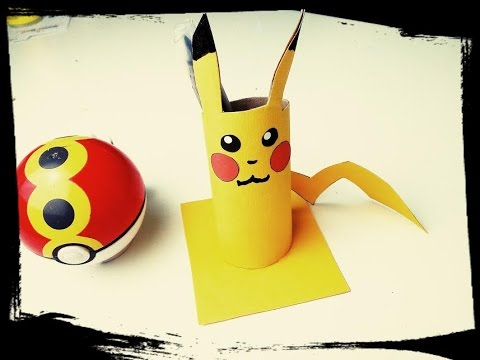 Pokemon go diy pikachu pot crayon youtube - Bricolage pot a crayon facile ...
