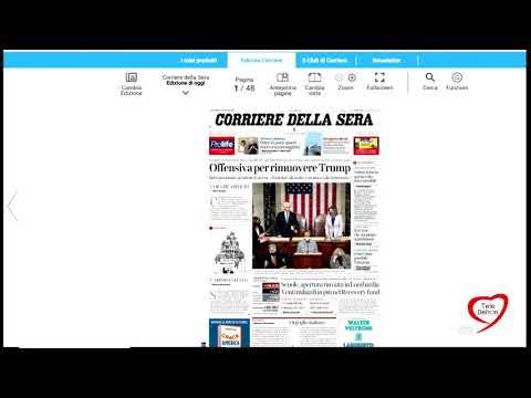 I giornali in edicola - la rassegna stampa 08/01/2021