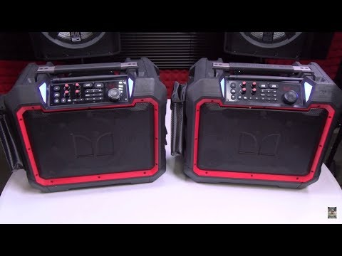 Monster Rockin' Roller 4 - Rugged Outdoor Bluetooth Speakers