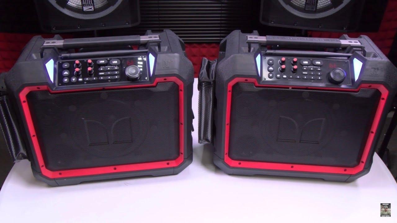 Monster Rockin Roller 4 Rugged Outdoor Bluetooth