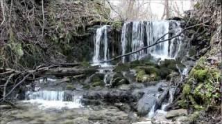 Wodospad - ruiny młyna Polanka Horyniecka - Roztocze Wschodnie