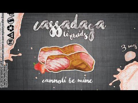 Cassadaga Liquids | Cannoli Be Mine | E-juice Review