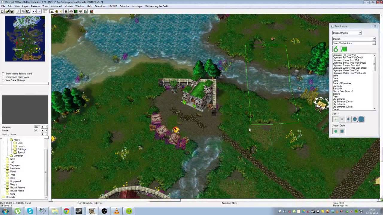 Warcraft 3 Map Editor Warcraft 3 Mapping Tutorial (1/4): Editor Basics   YouTube