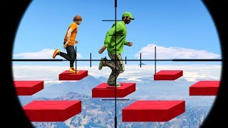 99% IMPOSSIBLE DEATHRUN CHALLENGE! (GTA 5 Funny Moments)