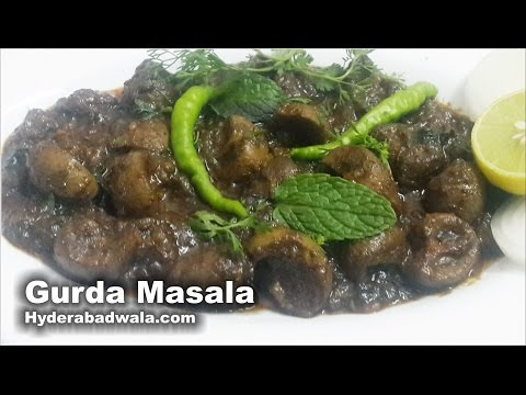Gurda Masala Recipe Video – How to Make Goat Kidney curry – Easy & Simple Hyderabadi Cooking