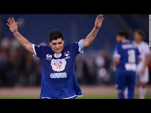 Match for the Peace 2016 4-3 All Goals Diego Maradona, Ronaldinho & Francesco Totti