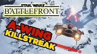 PC Ultra Settings: A-Wing Kill Streak - Star Wars Battlefront Beta Gameplay