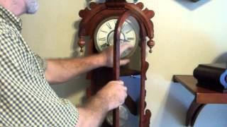 Victorian Reproduction 8 Day Wall Clock