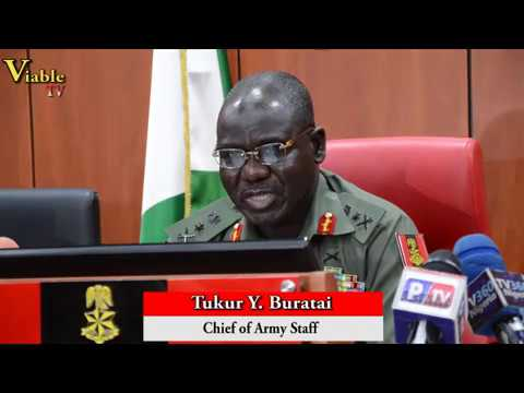 Troops Protest : Soldiers Involved Arrested, Will Face Military Justice – Buratai