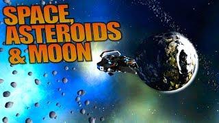 SPACE, ASTEROIDS & MOON | Empyrion: Galactic Survival | Let