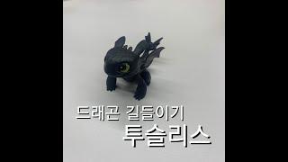 [드래곤길들이기] 투슬리스 피규어 figure 실사