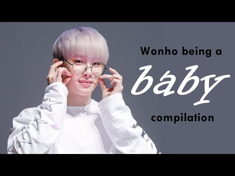 MONSTA X Wonho Being A Baby - Compilation