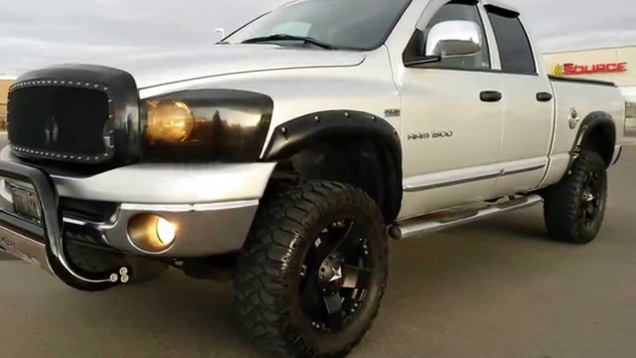 2006 Dodge Ram 1500 6 Inch Rough Country Lift