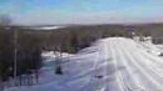 Snow Tubing is CLOSED at Rock Ridge Park, Huntsville, Ontario, Canada