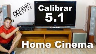 Cómo configurar Home theater 5.1 | Conectar Home Cinema a la tv | Guía General YouTube Videos