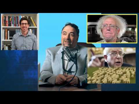 Michael Savage vs Bernie Supporter - Hilarious!