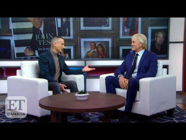 John Tesh Talks 'Entertainment Tonight', Battle With Cancer