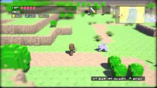 3D Dot Game Heroes (PS3) Gameplay