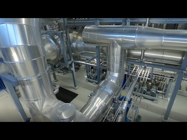 IFF Finnfeeds Finland - MVR evaporation plant in Naantali. Turn the image 360° in any direction.