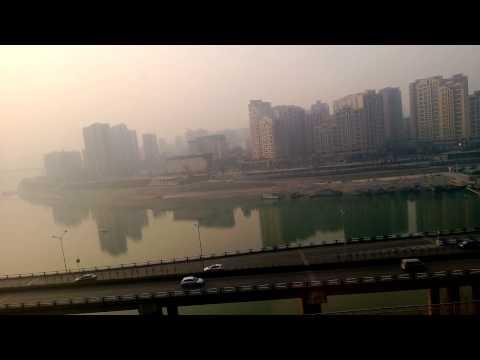 Metro ride in Chongqing, China 01.2013