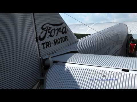 EAA Ford Tri Motor Rides at Shelby Co.