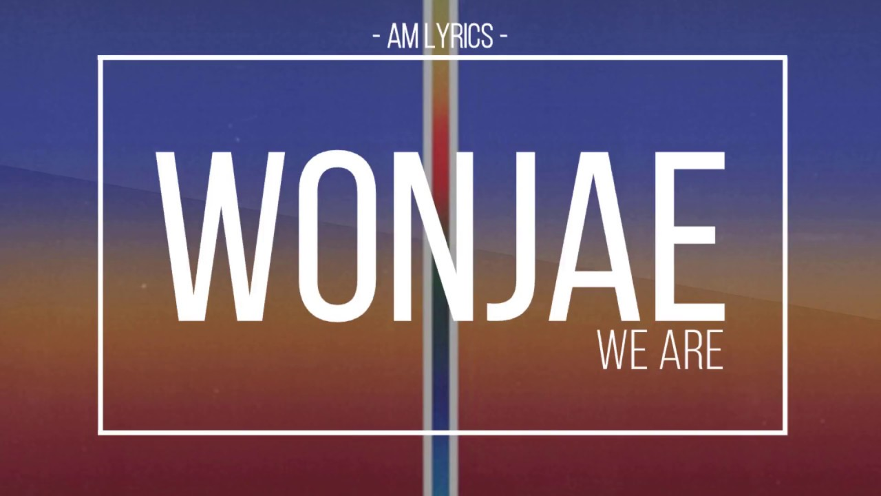 Image result for Woo Won Jae:We Are