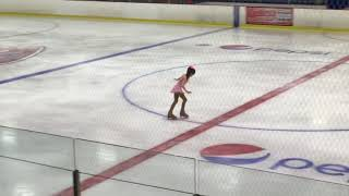 Lauren's skating competition