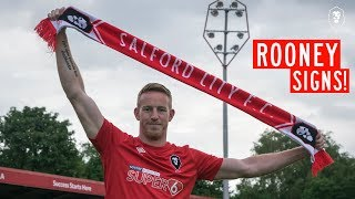Adam Rooney signs for Salford City from Aberdeen!